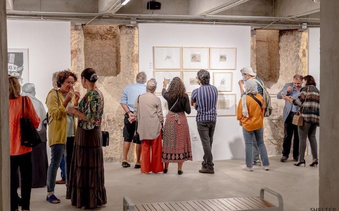 Retour sur… l'exposition Destinations de Benoît Guillaume et de Mohamed Gohar au Shelter Art Space à Alexandrie.