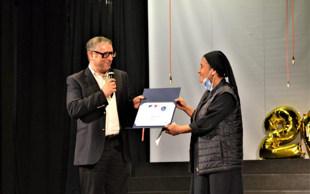 Retour sur… la cérémonie de remise officielle du Label FrancEducation à l'école Saint-Joseph à Alexandrie