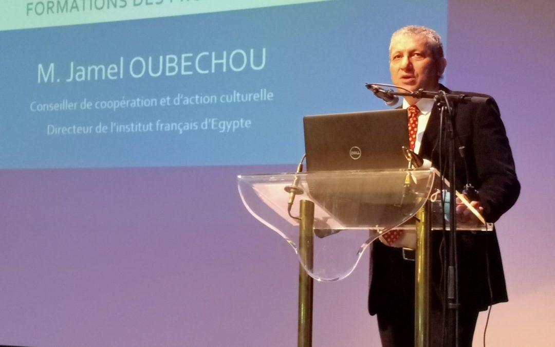 Retour sur … la cérémonie de remise des attestations aux professeurs de français et de disciplines non linguistiques diplômés de l'Institut Universitaire de Formation des Professeurs (IUFP)…