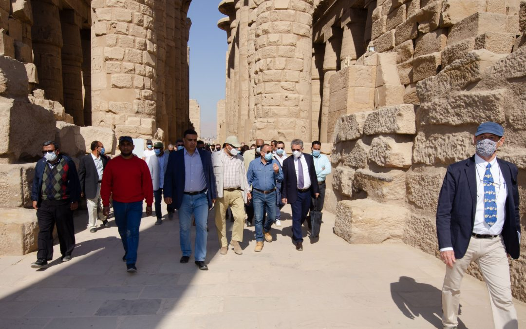 المركز المصري الفرنسي لدراسات معابد الكرنك : تعاون مصري- فرنسي مميز