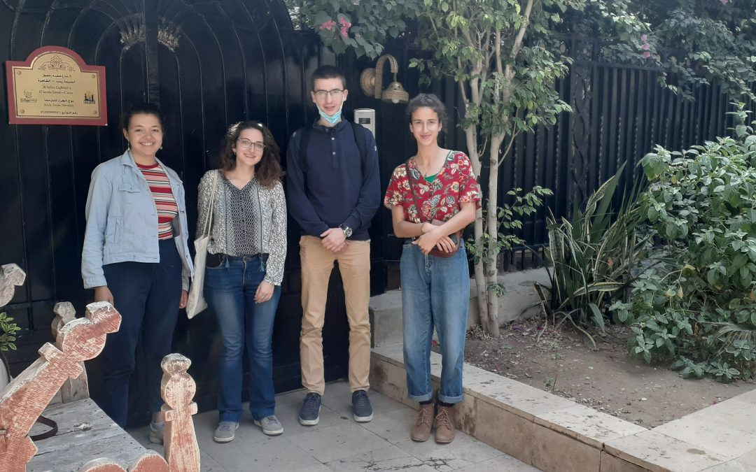 Les assistants de langue française ont terminé leur mission en Égypte !