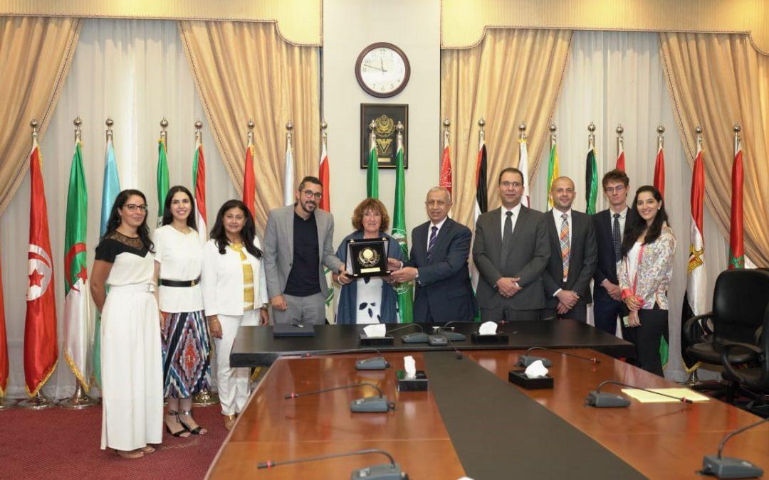 Signature d'un accord de coopération entre AAST et ESC Clermont Business School